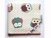 Fabric Blue Badge Holder - Twit-Twoo